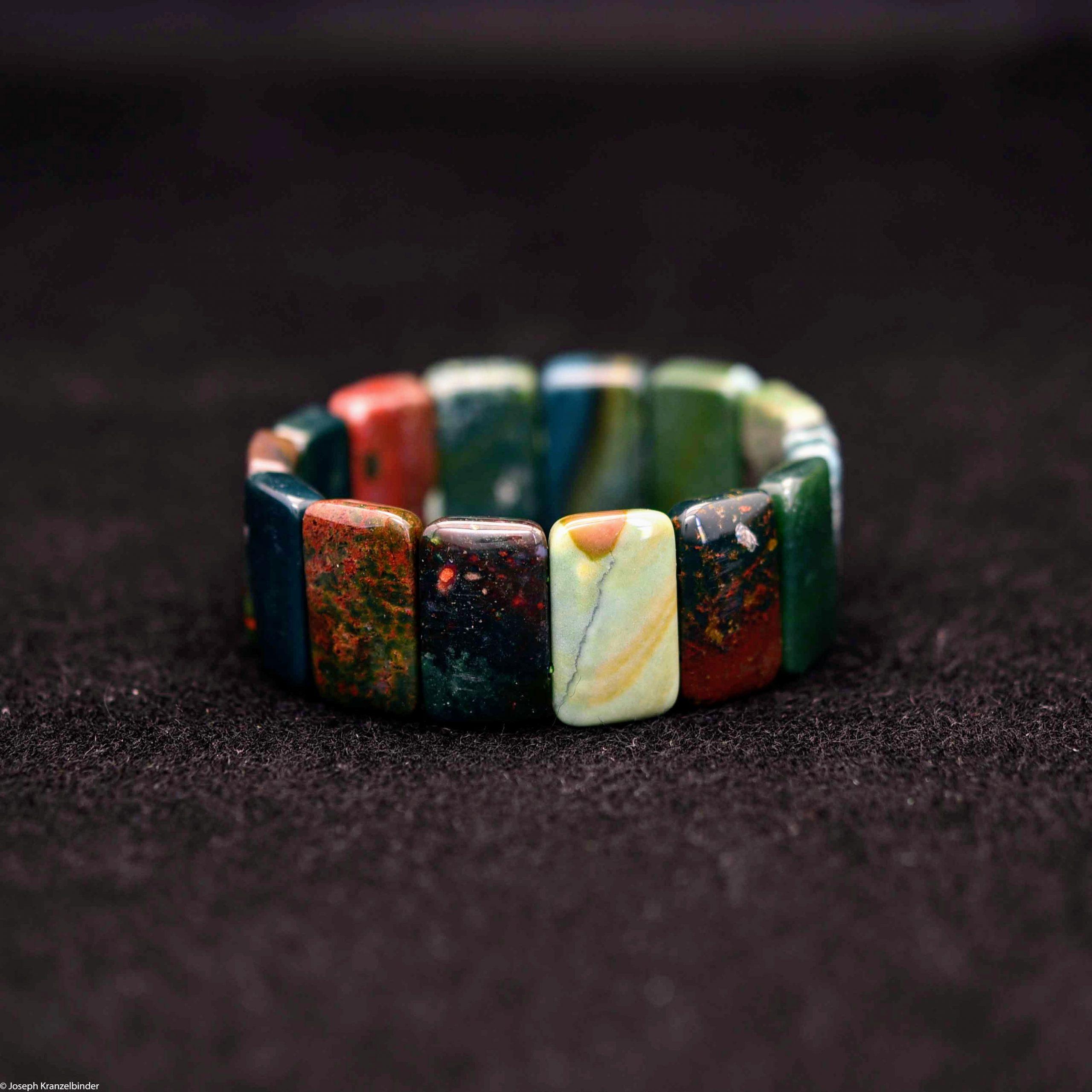 buntes Jaspis Armband