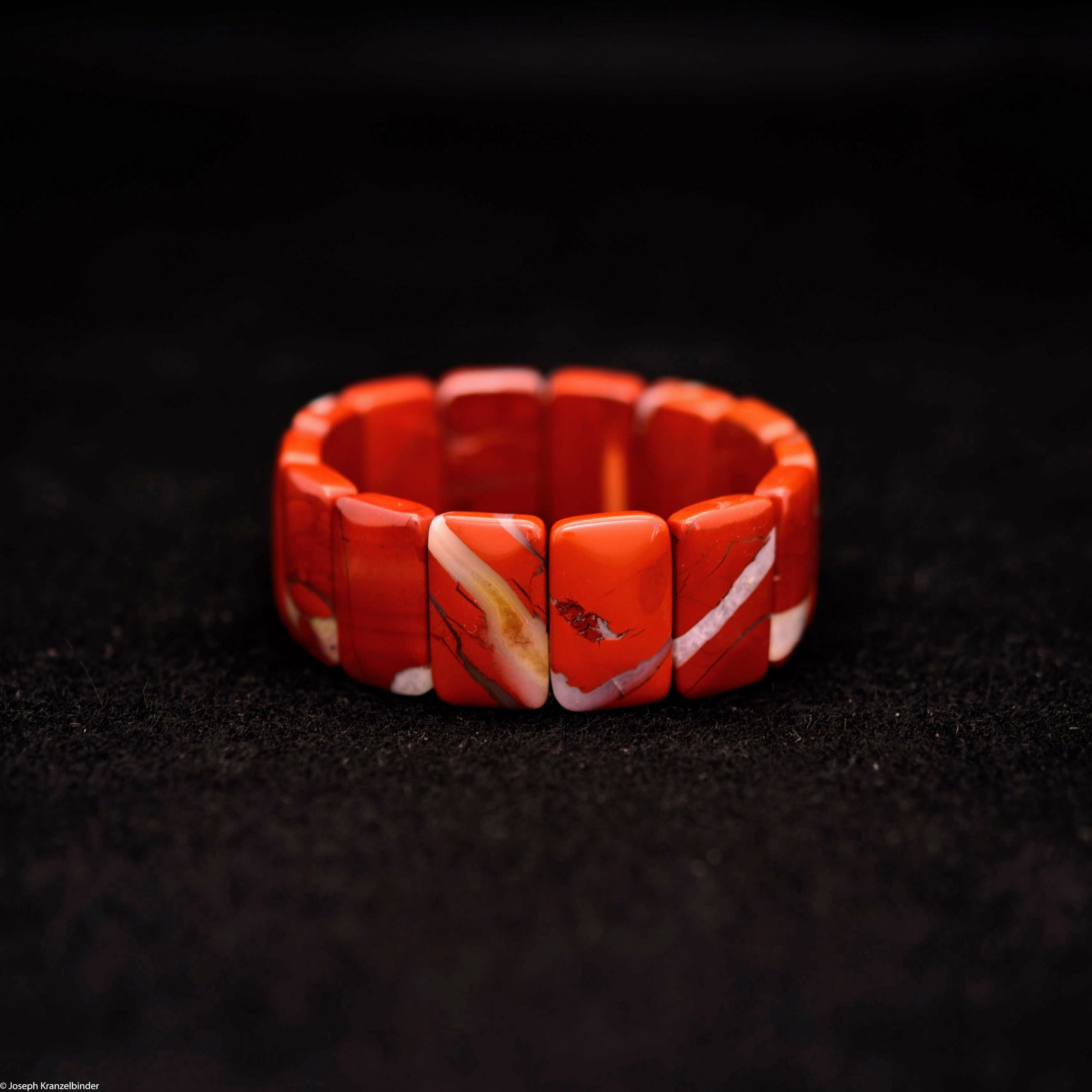 Armband Jaspis rot